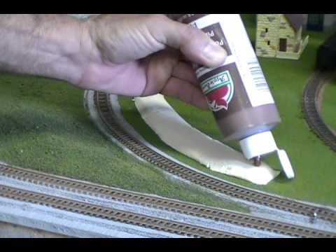 HOW TO MAKE HILLS FOR MODEL RAILROADS