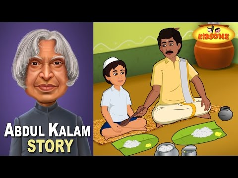Abdul Kalam | Dinner of My Life | Animated Story For Children - KidsOne
