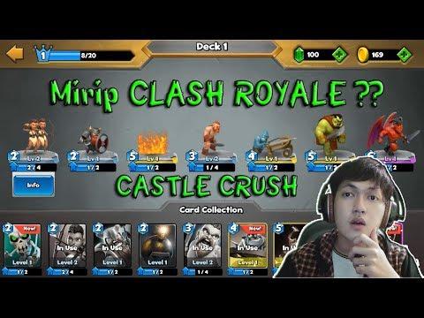 Game Yang Mirip Clash Royale - Castle Crush Gameplay - Indonesia