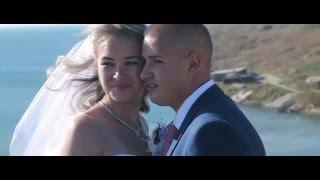 Романтическая свадьба на море. Счастливые молодожены Евгений и Диана