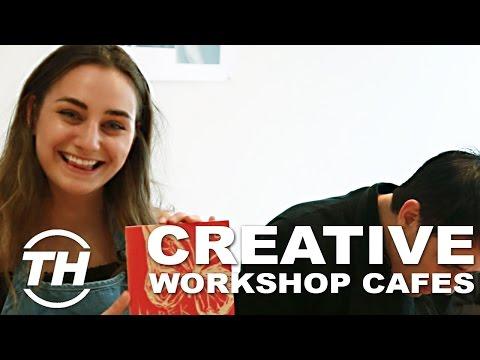 Trend Hunter x Paint Cabin | Creative Workshops Cafes