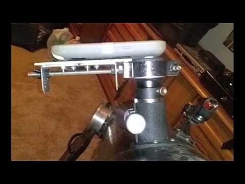 Homemade Cell Phone Mount For Telescope Youtube