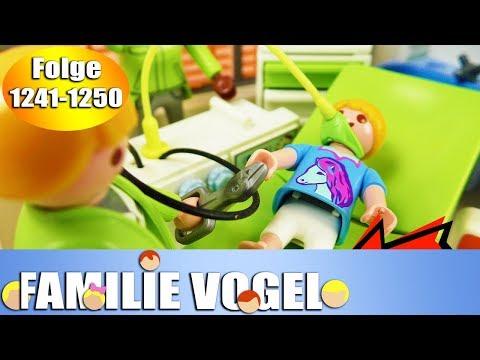 Playmobil Filme Familie Vogel: Folge 1241-1250 | Kinderserie | Videosammlung Compilation Deutsch
