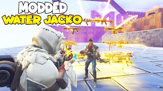 So This Is a Modded Water Jacko!? (Scammer Gets Scammed) In Fortnite Save The World
