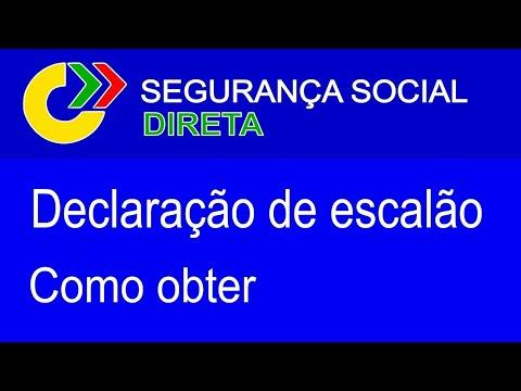 Escalão de Abono, 2021 | Como obter a declaração | Segurança Social