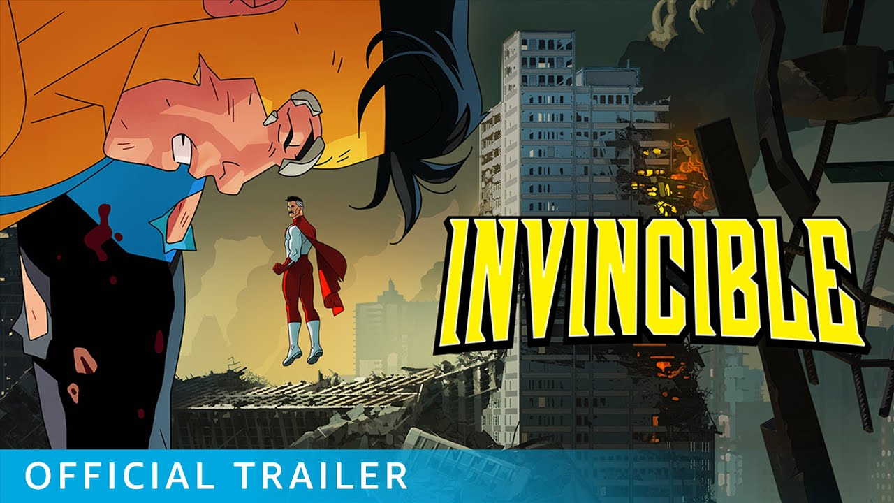 Check Out the Full Trailer for Robert Kirkman's 'Invincible'