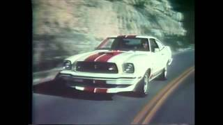1977 Ford Mustang II Cobra TV Ad Commercial (1 of  4)