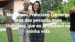 morre seu Francisco Camargo vovó do meu filho Wesley Camargo descanse em paz guerreiro 😿
