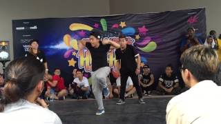 Judgement Day X Malaysia Got Hip Hop 2015-AllStyles3on3-Audition- VCD CREW