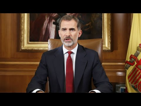 RELAY - Watch Spain's Felipe's address to the nation on Catalonia's bid for independence