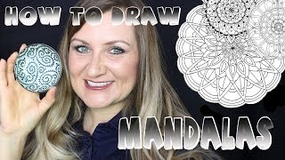 Step by Step / How to Draw a Mandala