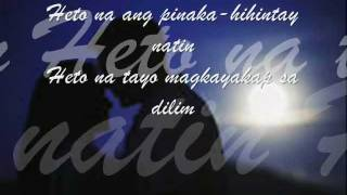 Yakap sa Dilim - APO Hiking Society  (w/ Lyrics)