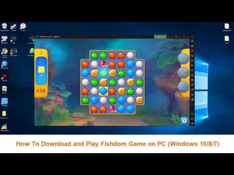 How To Download And Play Fishdom Game On PC (Windows 10/8/7/Mac)