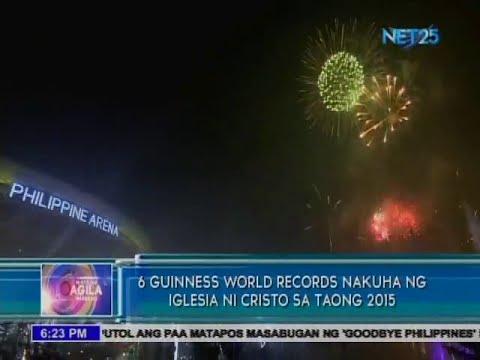 6 Guinness World Records nakuha ng Iglesia Ni Cristo sa taong 2015