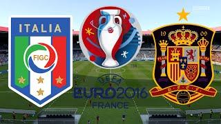 ITALIEN vs. SPANIEN | ACHTELFINALE | EURO 2016 FRANKREICH ◄EM #23►