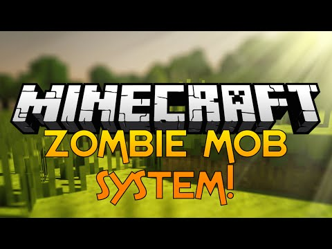 Nuklear Plays Minecraft - 03 - Zombie Mob System!