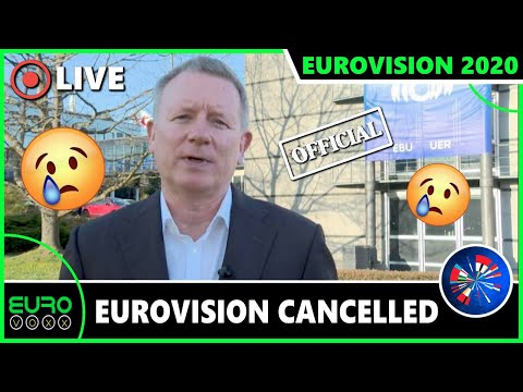 EUROVISION 2020 CANCELLED 😞