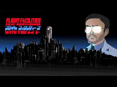 Music video Flight Facilities - With You feat. Grovesnor - Danny