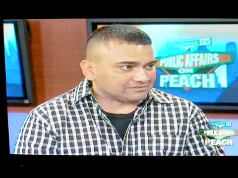Memoirs of an illegal alien interview on Peachtree TV