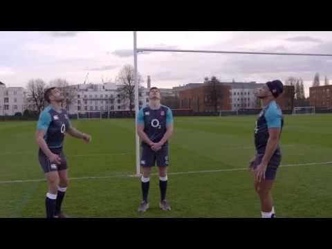 CATCHING THE HIGH BALL – SKILLS & DRILLS WITH ENGLAND RUGBY