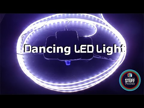 Dancing LED Light | Music reactive or Sound activated LED strip lights using LM324