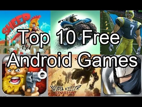 Top Ten Android Free Games