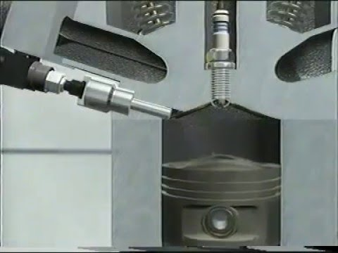 Stratified Fuel injection Animation