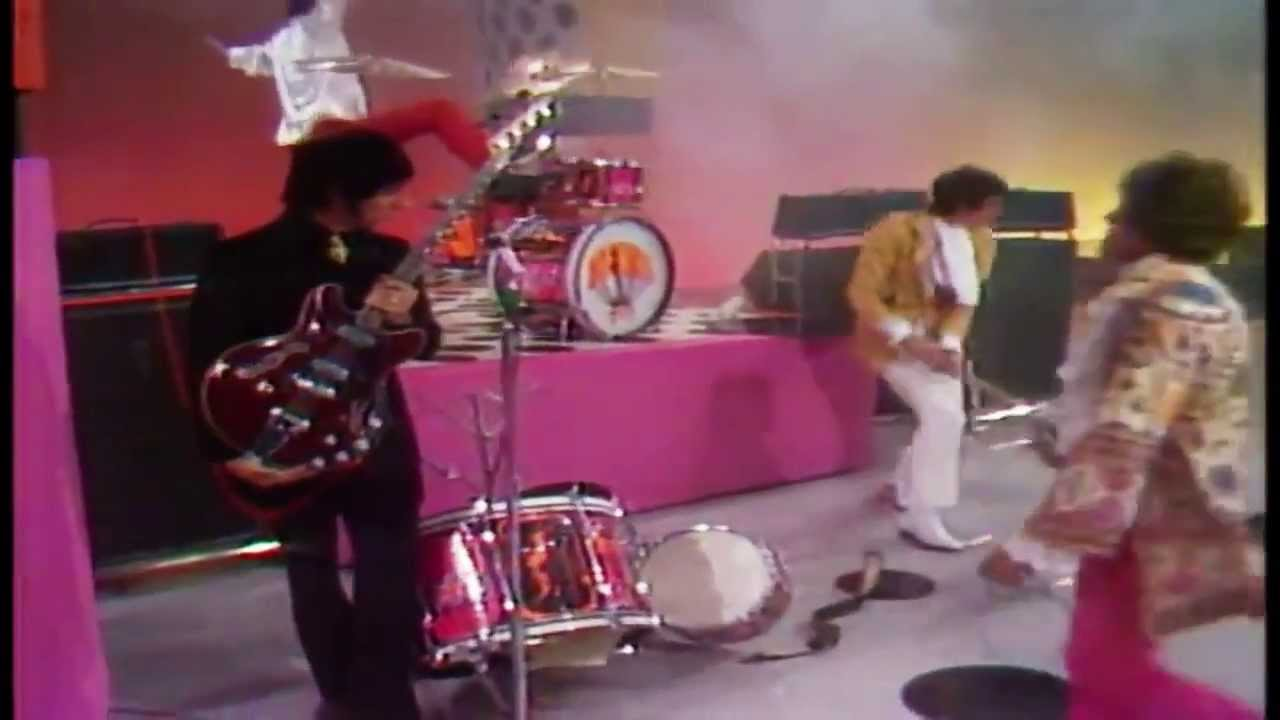 Keith Moon The Who Explosive Drumming 1967 Youtube
