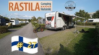Camping in HELSINKI: ⛺️ Rastila Camping - Finnland Wohnmobil Rundreise #27