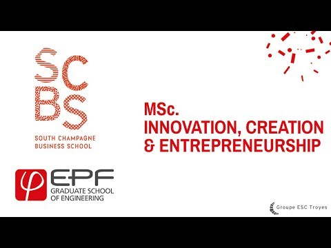 Le MSc Innovation Création Entrepreneuriat en 1 min - MSc ICE
