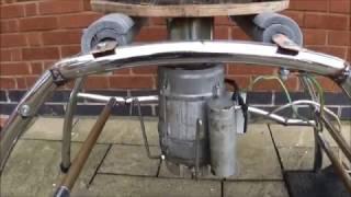 Vibrating Tumbler Super Quiet Part 3, Rust Remover, Cleaner, Polisher, Scrap Metal Parts, DIY.