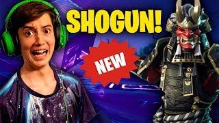 NOUVEAU SHOGUN SKIN! (Live Fortnite pro en utilisant la nouvelle peau!)
