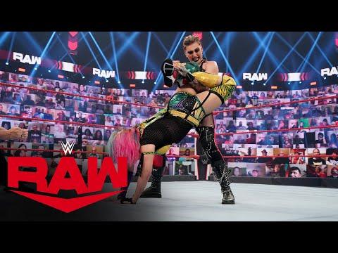 Rhea Ripley vs. Asuka: Raw, June 14, 2021