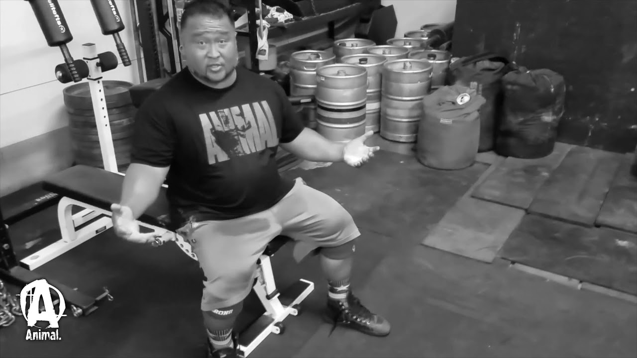 "The Animal Underground: Grant ""HIGAMONSTER"" Higa Squats, Deads, and Pinch Grip"