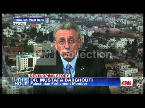 PALESTINIAN PARLIAMENT MEMBER BARGHOUTI