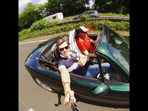 Epic roadtrip to Le Mans 24 hours in a Mazda MX5