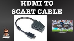 HDMI TO SCART Cable