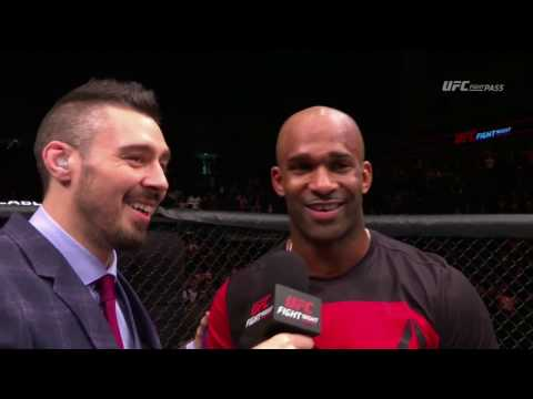 Fight Night London: Jimi Manuwa Octagon Interview