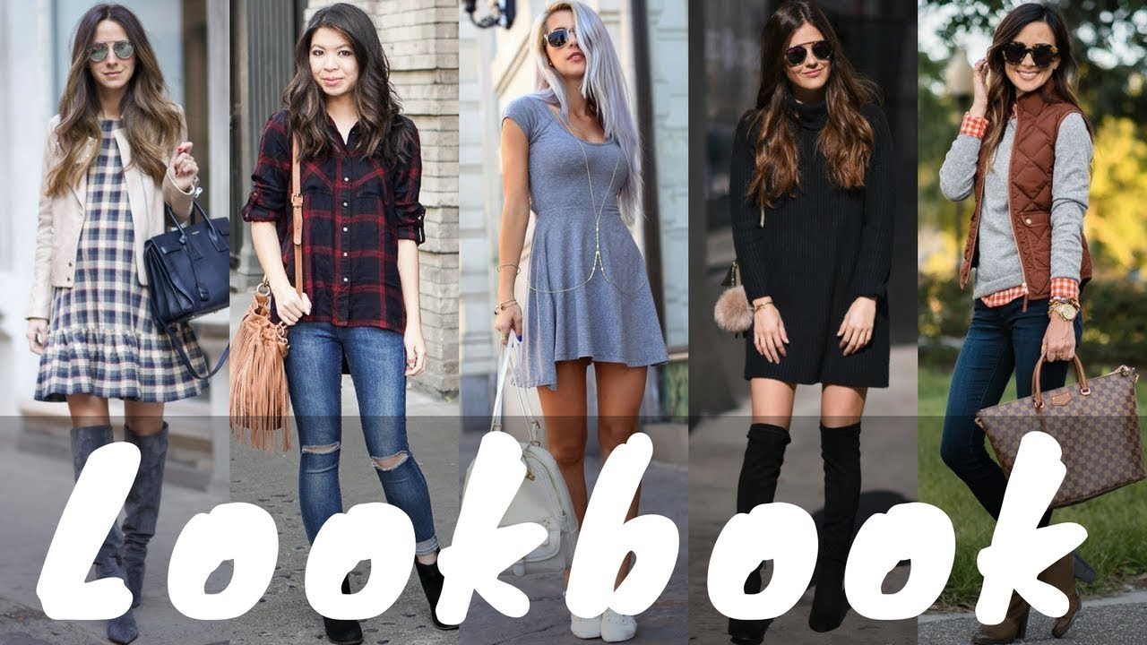 Feb 2018 | Spring Outfits | Outfit Ideas For Spring 2018 | Spring Lookbook - YouTube
