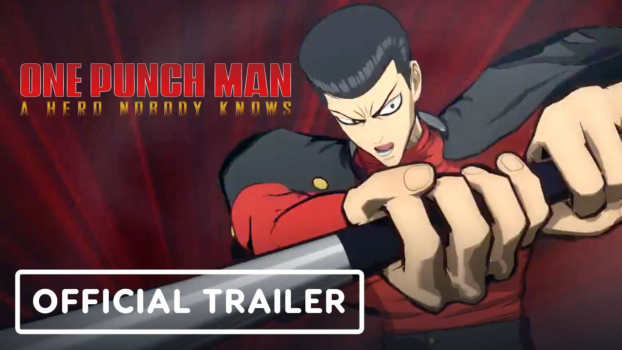 One Punch Man: A Hero Nobody Knows - Trailer oficial dos personagens (Metal Bat, Army Top Tank) + vídeo