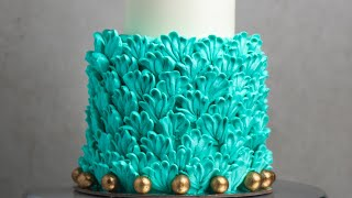 How To Decorate a Layered Petal Cake- Rosie's Dessert Spot
