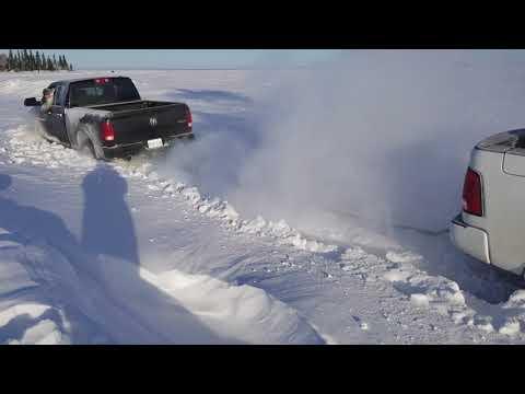 Ice Fishing Deschambault Lake 2018