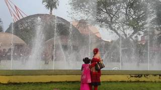 Water dance at Science city in Kolkata