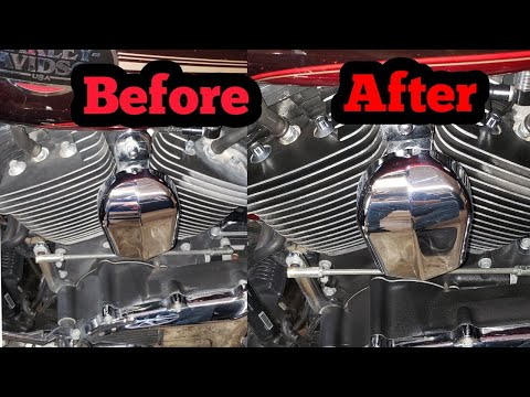 How To Clean Motorcycle Engine Block