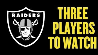 Three Players to Watch: Oakland Raiders! Who does Oakland take at #5 in the 2014 NFL Draft?