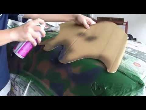 Gox7 Camouflage Color Paint- Teach you how paint a Assault Vehicle