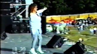 Алла Пугачева - выступление на рок-фестивале в г. Лезен (Швейцария, 30.06.1989 г.)