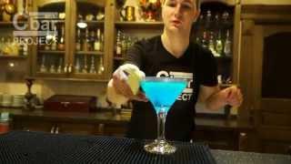 Коктейль Голубая Лагуна Blue Lagoon рецепт от Cbar-PROJECT