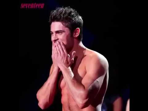 Zac efron is naked, she is shirtless (MTV MOVIE AWARD) from YouTube · Duration:  9 seconds