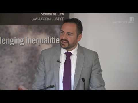 'Disabling Legal Barriers' Professor Oliver Lewis (University of Leeds, School of Law)